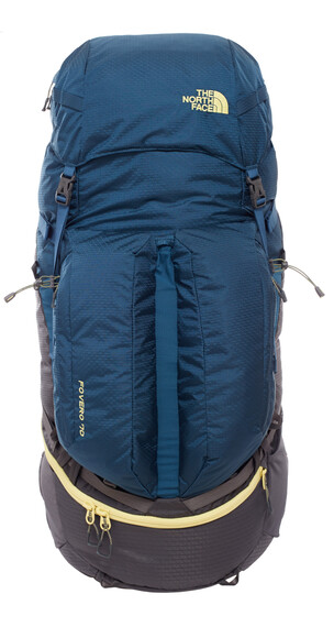 The North Face Fovero 70 Backpack L/XL monterey blue/goldfinch yellow